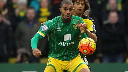 Lewis Grabban was ineffective against Watfords back four at Vicarage Road. Picture: Paul Chesterton/