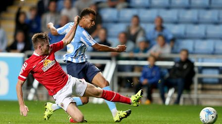 Norwich City winger Jacob Murphy is on loan at Coventry City. Picture: David Davies/PA Wire.