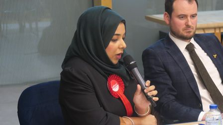 Labour candidate Apsana responds at 2019 election hustings about housing application escaping abusive relationship