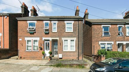 The three bedroom semi-detached house on Devonshire Road, Ipswich, is available for auction with Connells