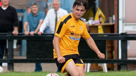 Jack Friend in action for March Town