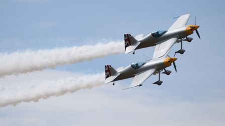 The Matadors display at the Old Buckenham Air Show. Picture: DENISE BRADLEY
