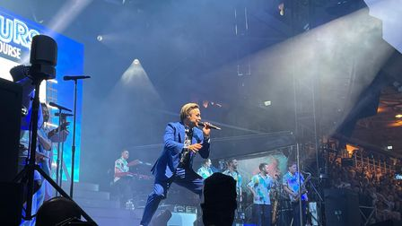 Olly Murs at Newmarket Nights