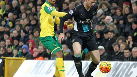 Lewis Grabban is one of the players who can make life difficult for Alex Neil at Norwich City. Pictu