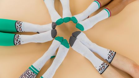 Training Crew socks from Carly Rowena's activewear collection