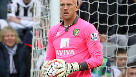 John Ruddy is well aware Declan Rudd is pushing him hard for the Norwich City number one spot. Pictu