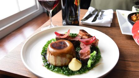 Customers can expect pub classicswithChris' gourmet twist