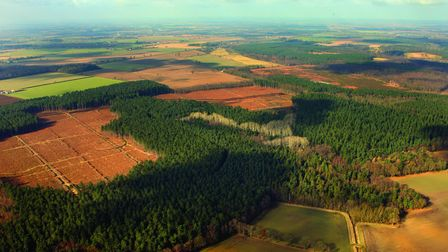The Brecks from the air