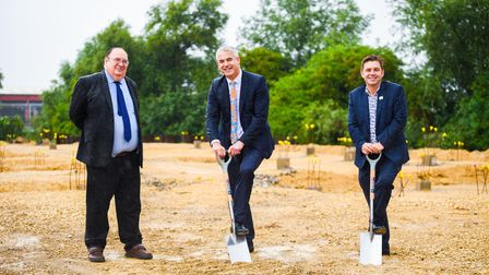 Spades have hit the ground at Stainless Metalcraft to mark the start of the build for its new training school.