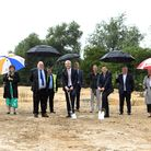 Despite the rain, Steve Barclay was joined by Ann Hay, Ian Benny, Chris Boden, Nik Johnson and Jane and Graham Horn