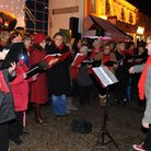 Diss Christmas light switch in 2014Picture by: Sonya Duncan