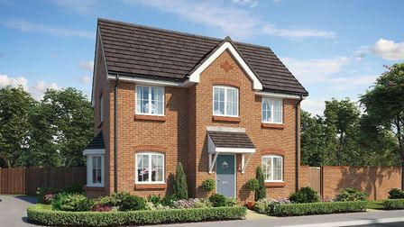 The first residents of the Haughley development will move into their new homes later this month