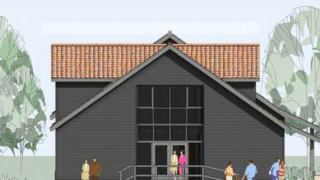 Images of the new development proposed for Ufford