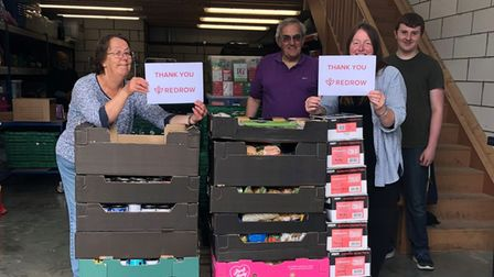 Ely Foodbank say they are extremely lucky to benefit from business like Redrow homes.