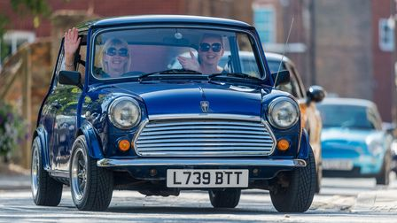 Scenes from the Mini Meet 2017 held on the Tuesday MArket Place in King's Lynn.