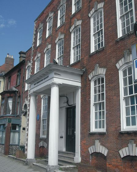 The Custom House in Great Yarmouth today