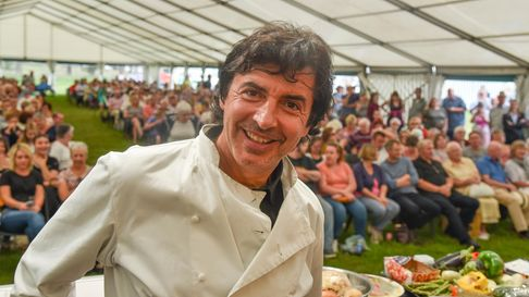 Award-winning chef Jean-Christophe Novelli will appear at the Sandringham Food, Craft and Wood Festival.