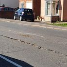 Hundred Road in March split after a gas leak