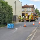Norfolk Fire and Rescue Service were called to an incident atthe poultry factor in Attleborough.