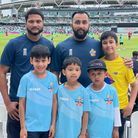 Fun day for young East End cricket fans with their coaches