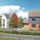 CGI designs of the 129 homes planned as phase 2B of the north west Haverhill development