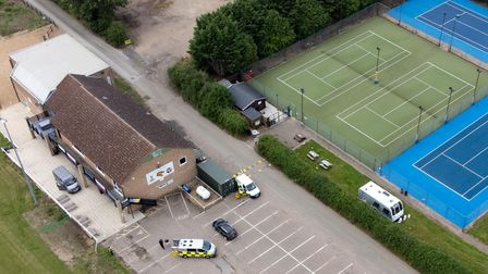 The caravans arrived at the Downham Road rugby ground on Tuesday and show no signs of leaving anytime soon.