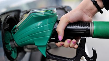 Petrol prices in Suffolk have been revealed (file photo)