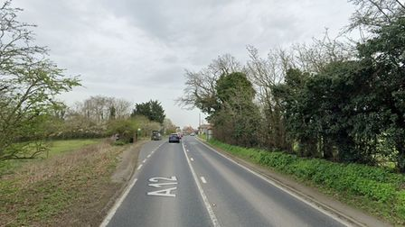 The incident happened on the A12 at Blythburgh, near Southwold