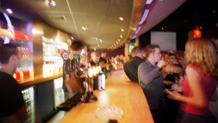 The new nightclub, Time, opens on Riverside Norwich.<pics by Natasha Lyster> 10/12/1999