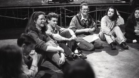 A drama workshop at Norwich Arts Centre, 29 January 1992. Picture: Archant Library
