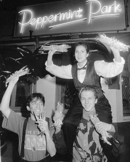 Norwich nightclub Peppermint Park, 1991. Picture: Archant Library