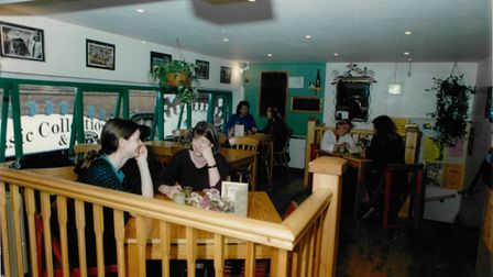The Treehouse restaurant in Norwich August 1994