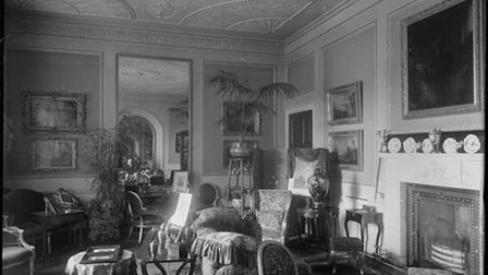 The drawing room at Woolverstone