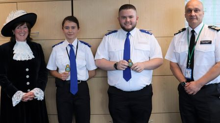 New sheriff cadets for Cambridgeshire