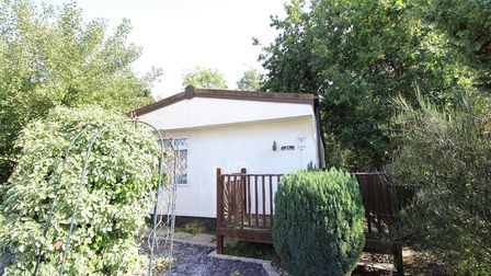 This mobile home in Great Blakenham has been reduced by 50%