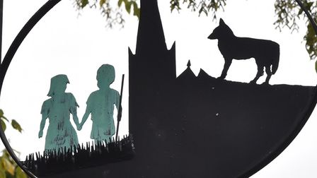 The green children of Woolpit.