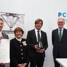 PCE Group's David Nolloth and James Cook are presented with The Queen's Award for Enterprise