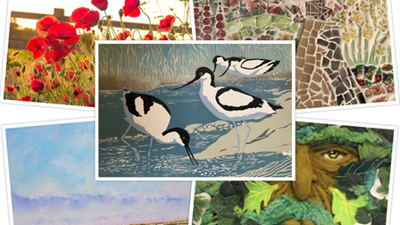 Some exciting art, mosaics and photography will be on display