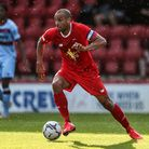 Leyton Orient's Darren Pratley in action during the pre-season match at The Breyer Group Stadium, Lo