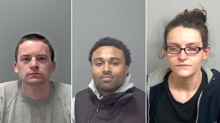 See the faces of those put behind bars in Suffolk last month