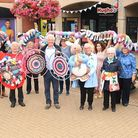 Breckland councillors and the Dereham community crafters