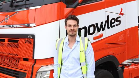 Alex Knowles managing director at Knowles Transport