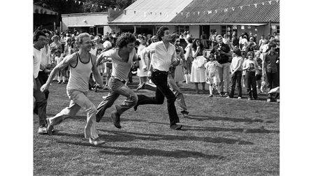One of the races at Sudbury Carnival in June 1980