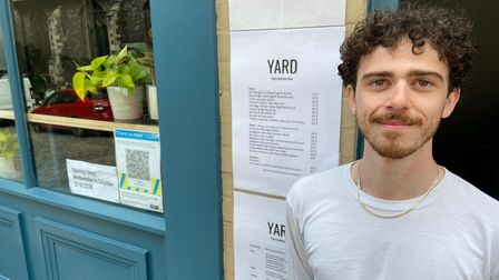 Ali Hunt, manager at Yard on Pottergate in Norwich