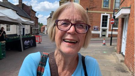 Beryl Sewell, 78 from Great Ryburgh.