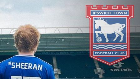 Ed Sheeran has been given a squad number by Ipswich Town for the 2021/22 season