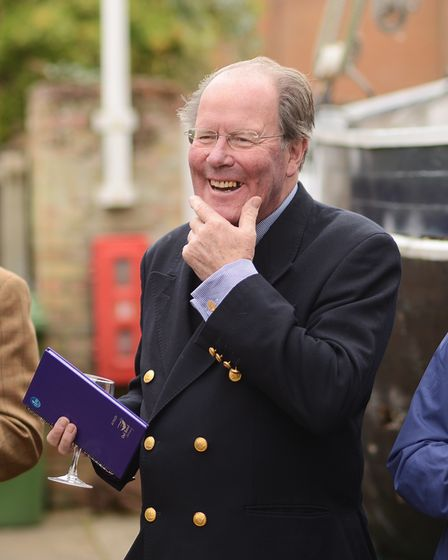 Conservative politician Sir Jeremy Bagge, the 7th Baronet,