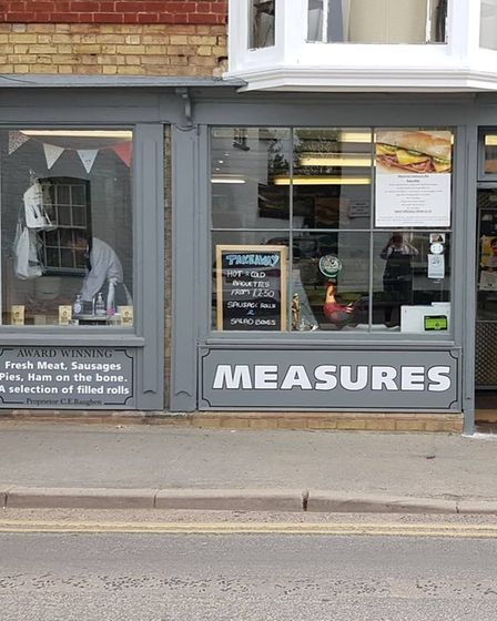 Measures is such a perfect shop. It has the lot - pies of course included