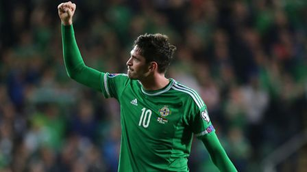 Kyle Lafferty is in the running for Northern Ireland's player of the year.
