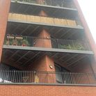 A second-floor flat was partly damaged by the fire in Three Colts Lane, Bethnal Green.
